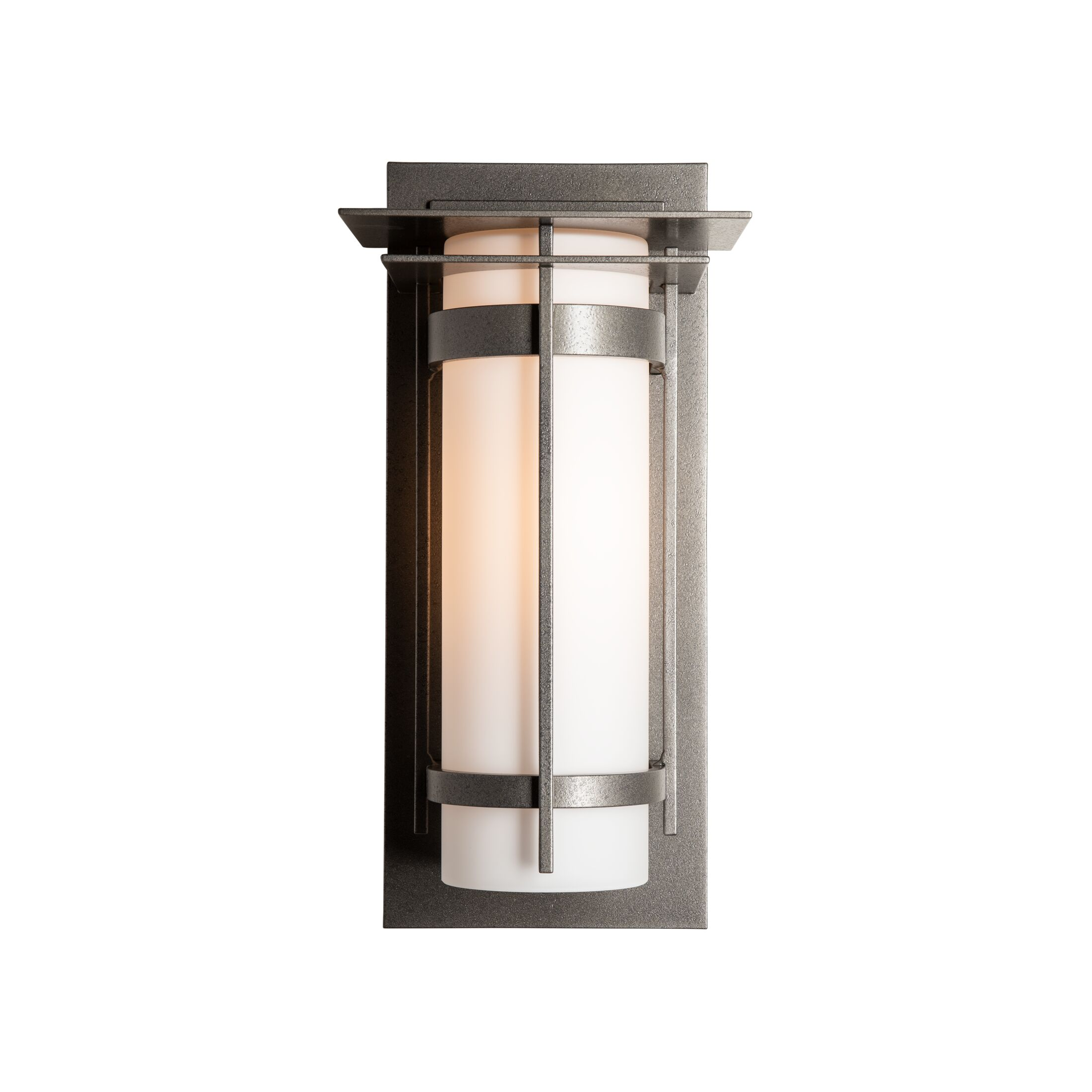 Product Detail: Banded with Top Plate Outdoor Sconce