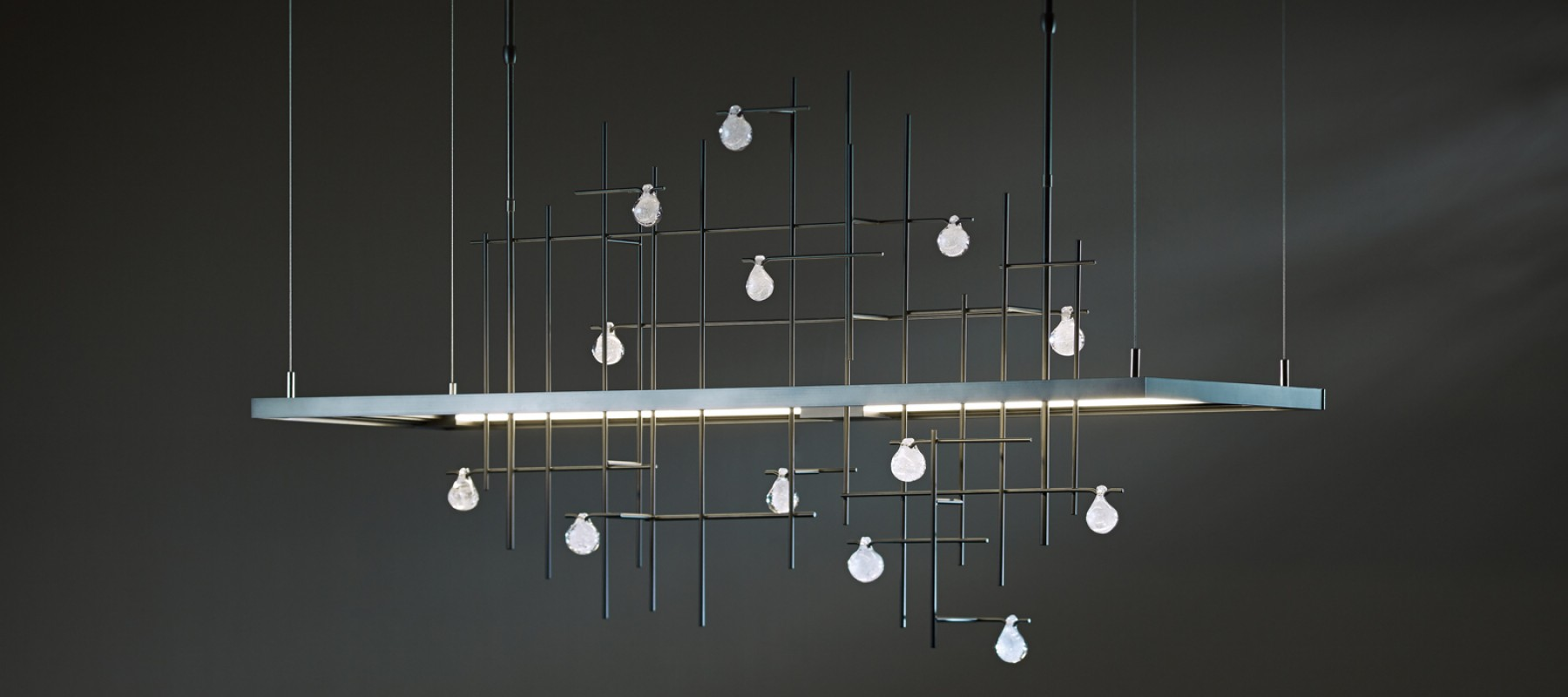 The Spring LED Pendant by Hubbardton Forge