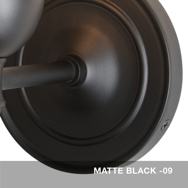 Matte Black finish swatch