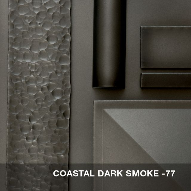 Coastal Dark Smoke finish swatch