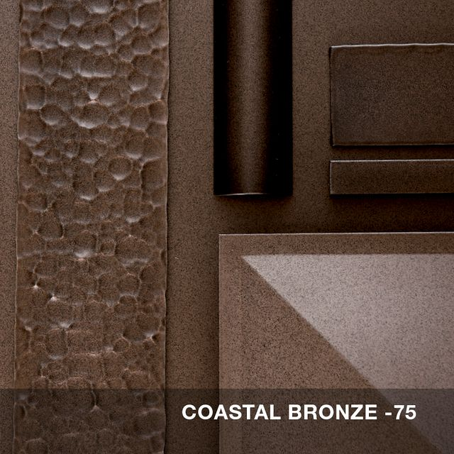 Coastal Bronze finish swatch