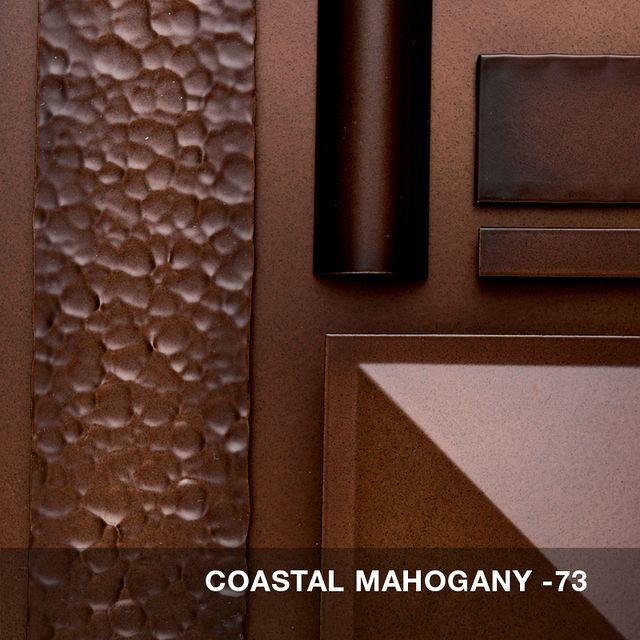 Coastal Mahogany finish swatch