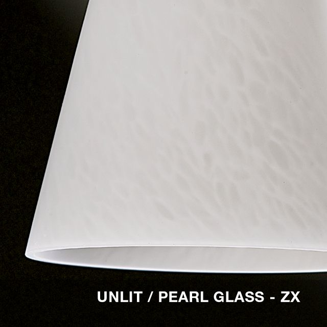 Unlit - Pearl glass swatch
