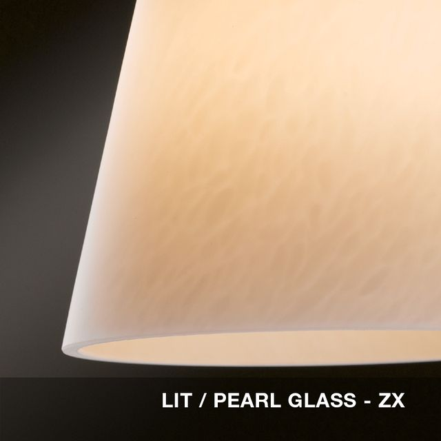 Lit - Pearl glass swatch