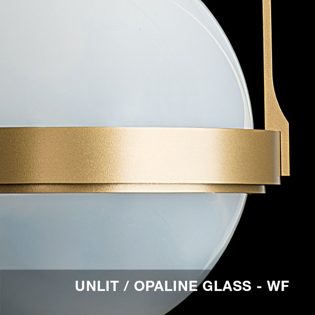 Unlit - Opaline glass swatch
