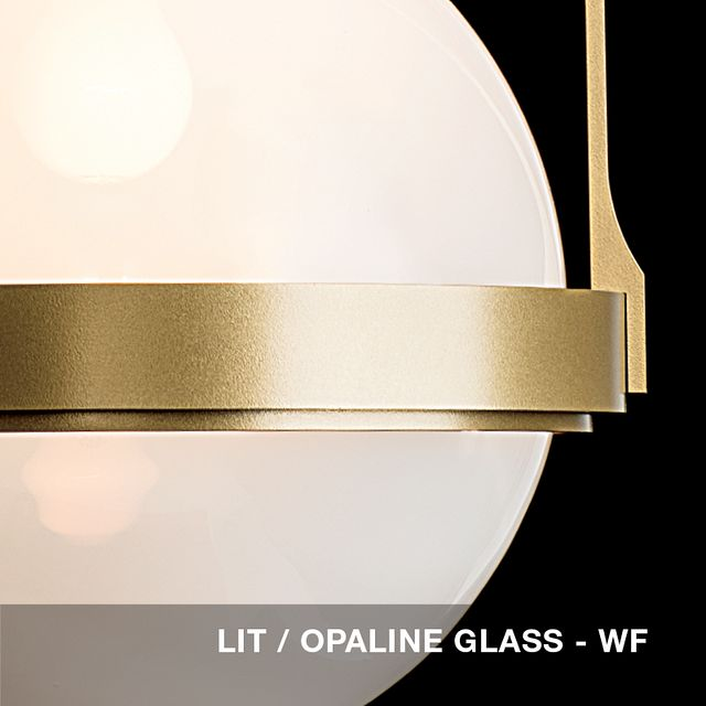 Lit - Opaline glass swatch