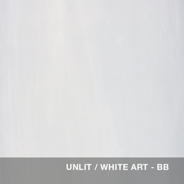 Unlit - White Art glass swatch