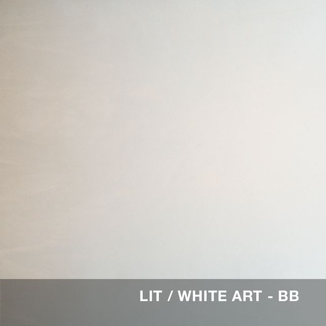 Lit - White Art glass swatch