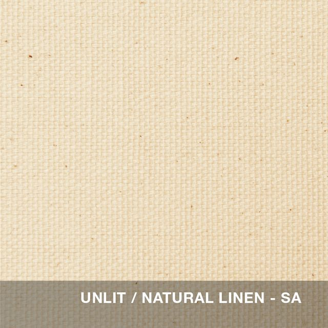 Unlit - Natural Linen shade swatch