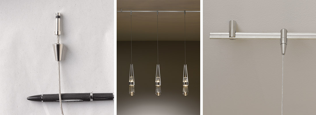 Track Compatible Pendant Lights
